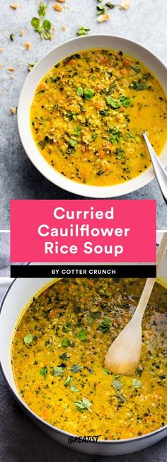 Sweater weather calls for soup and lots of leftovers.  #greatist https://greatist.com/eat/healthy-soup-recipes-to-meal-prep