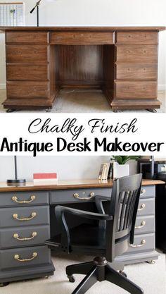 Antique Desk DIY mak