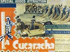 1934 Oscar Winner, La Cucaracha