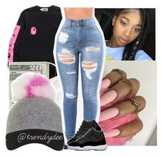 """""""West Side Nígga """" by santo-wife ❤ liked on Polyvore featuring beauty"""