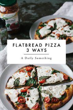 Flatbread Pizza 3 Wa