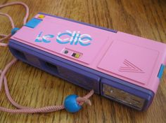 1980s Pink Le Clic Pocket 110 Camera. Oh my goodness, I had one of these, I'd begged my mum for months for one!!!