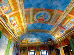 Inside Hellbrunn Palace