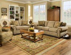 Дизайн интерьера дома. Интерьер гостиной с мебелью.