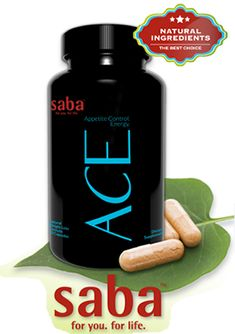 See… Feel… Love the Difference! Exclusive Appetite Control and Energy Formula  Saba's ACE formula provides all you need for weight loss and energy in one supercharged product — helping you feel great, all day, while you shed pounds and inches. Get yours today with Free Shipping at aceappetitecontrolenergy.com
