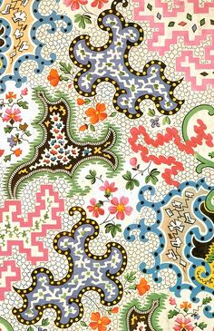 patterns by the way - graceandcompany: ♥LIKE : Textile Design