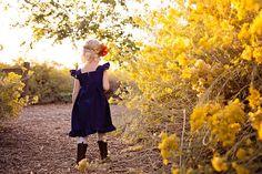 Girl SunDress Teal toddler dress Girl Boho Sundress Vintage