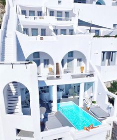 Share the views with our girlfriend getaway dream hotel: The Charisma Suites of #Santorini. // Travel Well #TravelFly! / #TravelFlyHotels