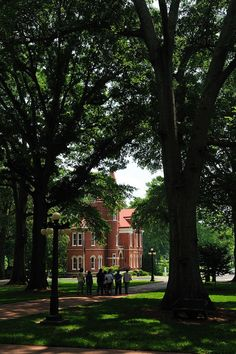 Ventress Hall ~ Ole Miss Campus, Oxford, MS.  Named after my great grandfather James Alexander Ventress, Sr.