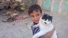 وهاد صديقي الجديد #مساكن_هنانو - #حلب And that's my new friend #Aleppo - #Syria