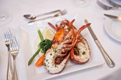 Feast like a king. Lobster is one of the delicacies served at the complimentary main dining room.