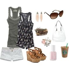 summer clothes -- cute clothes -- I LOVE this outfit