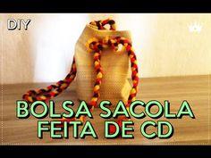 BOLSA SACO + APRENDA A FAZER | TAG Customizando - YouTube