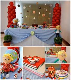 Charlie and Lola Party Ideas  #party #birthday #charlieandlola #decorations