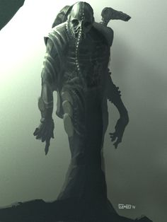 concept art for Ridley Scotts Prometheus.