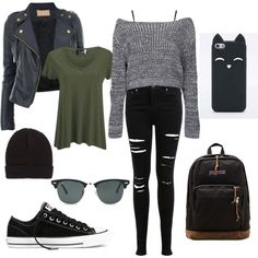 Untitled #5 by taisfidabelf on Polyvore featuring polyvore interior interiors interior design home home decor interior decorating American Vintage Boohoo Topshop Miss Selfridge Converse JanSport Ray-Ban