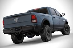 Blue Dodge Ram Trucks