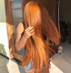 Virgin Human Hair ,We Have Product Testing Certification Density Dyed Natural Hair, Dyed Hair, Curly Hair Styles, Natural Hair Styles, Ginger Hair Color, Strawberry Blonde Hair, Hair Laid, Gorgeous Hair, Wig Hairstyles