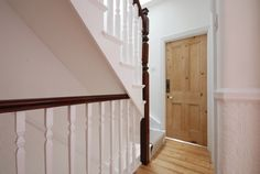 Loft Conversion stairs and bannister Loft Conversion Access, Loft Conversion Gallery, Loft Conversion Stairs, Loft Staircase, House Stairs, Staircase Design, Staircase Ideas, Staircases, Loft Room