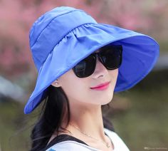 Women Casual Banana Print Navy Bucket Hat 2018 Summer Men Foldable Beach Sunscreen Wide Brim Flat Top Sun Bonnet Vivid And Great In Style Men's Hats Apparel Accessories