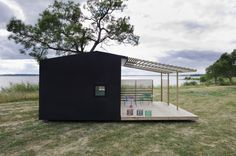 The 15square meter Mini House module doesn't require a building permit within Scandinavi...