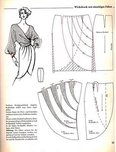 51 Ideas Skirt Pattern Sewing English You are in the right place about modest Skirt Here we offer you the most beautiful pictures about the leather Skirt you are looking for. When you examine the 51 I Drape Skirt Pattern, Pattern Draping, Skirt Patterns Sewing, Sewing Patterns Free, Vintage Patterns, Sewing Tutorials, Clothing Patterns, Vintage Sewing, Pattern Sewing