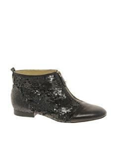 Enlarge Be Leather Cheshire Sequin Ankle Boot