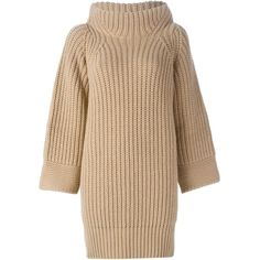 Humanoid Flathead Knitted Dress (2.960 NOK) ❤ liked on Polyvore