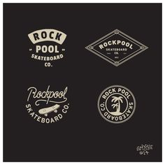 Rock Pool Skateboard Co. on Behance