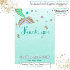 Mermaid baby shower invitation little by pixelperfectionparty mermaid baby shower invitation little mermaid baby shower filmwisefo