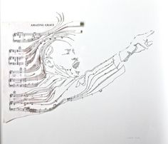 Sheet Music Collages | Erika Iris Simmons