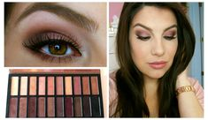 """Berry Smokey Eye Tutorial - The Coastal Scents """"Revealed palette make up tutorial. I want this palette sooooo bad - I love the first Revealed. Elf Make Up, Laura Geller, Beauty Make Up, Hair Beauty, Makeup Places, Makeup Tips, Hair Makeup, Eyebrows, Coastal Scents"""