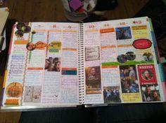 October 7-13 in an Erin Condren planner. Wow.