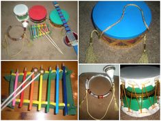 make musical instruments