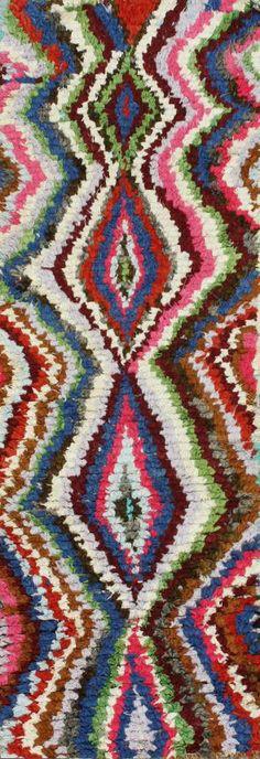 For the Eclectic: Rugs USA Moroccan Aqila Berber Ragy Multi Rug