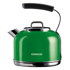 Kenwood KMix Traditional Boutique Kettle - Pistachio SKM035 ($93) ❤ liked on Polyvore featuring home, kitchen & dining, small appliances, green, green tea kettle, kenwood, colored coffee makers, filter coffee maker and kenwood kettle