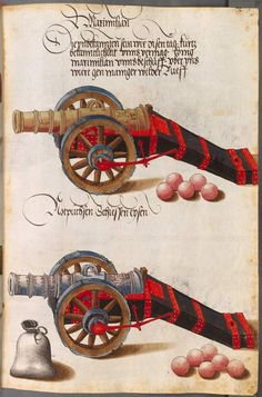Title: Zeugbuch Kaiser Maximilians I, Notbüchsen, Date: 1502
