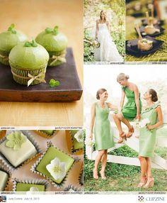 Green Weddings <3<3 ADD diy green wedding www.customweddingprintables.com
