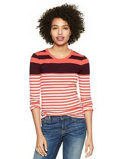 Supersoft variegated stripe T from @Gap