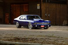 Custom Muscle Cars, Chevy Muscle Cars, General Motors, Dodge, Old School Muscle Cars, Chevy Nova, Nova Car, Chevy Chevelle, Ford