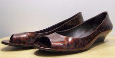 Cole Haan Nike Air Open Toe Ballet Wedge Leopard Print sz B Shoe Boots, Shoes, Cole Haan, Open Toe, Nike Air, Wedges, Ballet, Sandals, Ebay