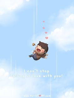 Love Facts : Picture Description Check out the comic HJ-Story :: Falling…! Hj Story, Love Cartoon Couple, Cute Love Cartoons, Chibi Couple, Cute Love Stories, Love Story, Comics Love, Lovey Dovey, Romantic Quotes