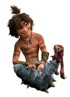 The Croods - 3D Character Design