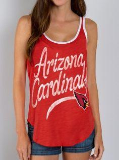NFL Arizona Cardinals Tank #JunkFood #NFL #fashion #swag