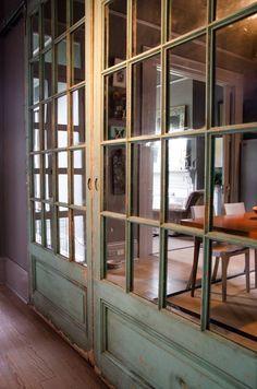 John's Gray-Hued Victorian Cottage: a little modern, a little rustic