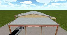 Cool 3D #marketing http://ift.tt/2s93pTx #barn #workshop #greenhouse #garage #roofing #DIY