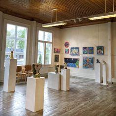 Avajaishulinat ovat nyt ohi! Naivistit Iittalassa -näyttely on avoinna 21.8 asti joka päivä klo 10-19! Tervetuloa!