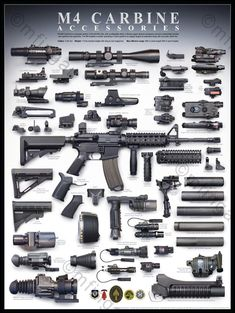 THIS IS VERY GOOD ACCESSORY IDENTIFICATION POSTER!! (It would be a GREAT Poster to hang in the House, Shop, Garage ~ or at Huntin' Camp!!)