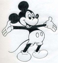 Mickey Mouse zeichnen - Anleitung-dekoking-com-5