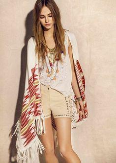 Rapsodia SS16 Ethnic Chic, Ethnic Fashion, Love Fashion, Fashion Beauty, Hippie Fashion, Beauty Style, Gypsy Style, Hippie Style, My Style